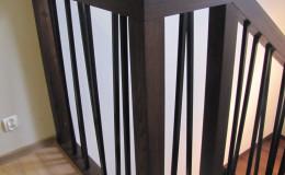 Debowe Dywanowe Beton, Olej kwadrat stal czarna (1)