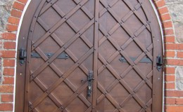 Kościół w Papowie – Drzwi  (3)