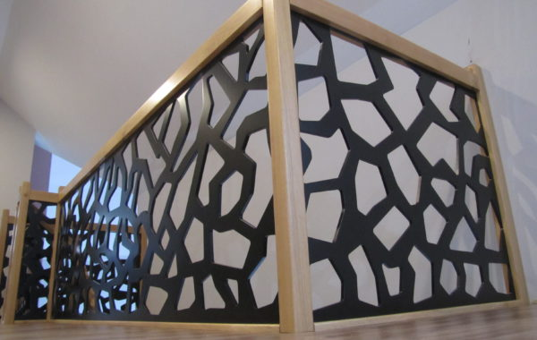 Balustrada konglomerat LVL