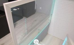Schody-Q jesion bielony balustrada szyba dokrecana Grudziadz (2)